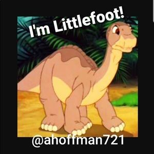 I'm featured today as Littlefoot